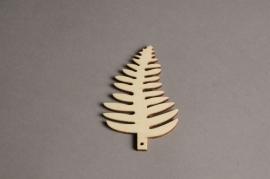 x560mi Sachet de 10 feuilles en bois H10cm