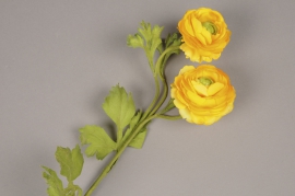 x561jp Artificial yellow ranunculus H65cm