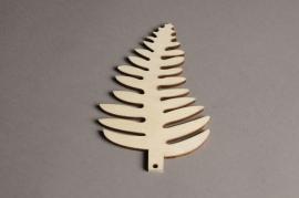 x561mi Sachet de 10 feuilles en bois H15cm