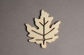 x562mi Sachet de 10 feuilles en bois H15cm