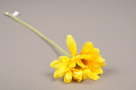 x570jp Artificial yellow gerbera H36cm