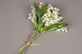 x570mi Bouquet de muguet artificiel H30cm