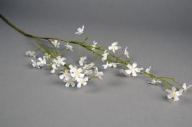 x571di Branche de jasmin artificiel blanc H90cm