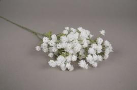 x572di White artificial gypsophila H65cm
