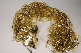 X596KI Gold foil fringe curtain L90cm H200cm