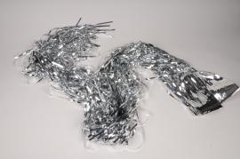 X597KI Silver foil fringe curtain L90cm H200cm