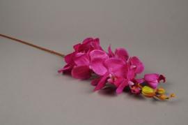 x600mi Phalaenopsis artificiel rose H78cm