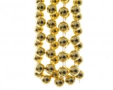 X608KI Guirlande de perles or 20mm x 270cm