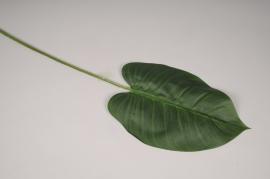 x611di Feuille de philodendron artificielle vert H105cm