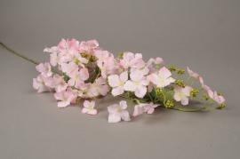 x616mi Hortensia sauvage artificiel rose H105cm
