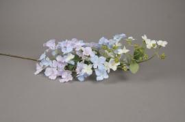 x618mi Hortensia sauvage artificiel bleu H105cm