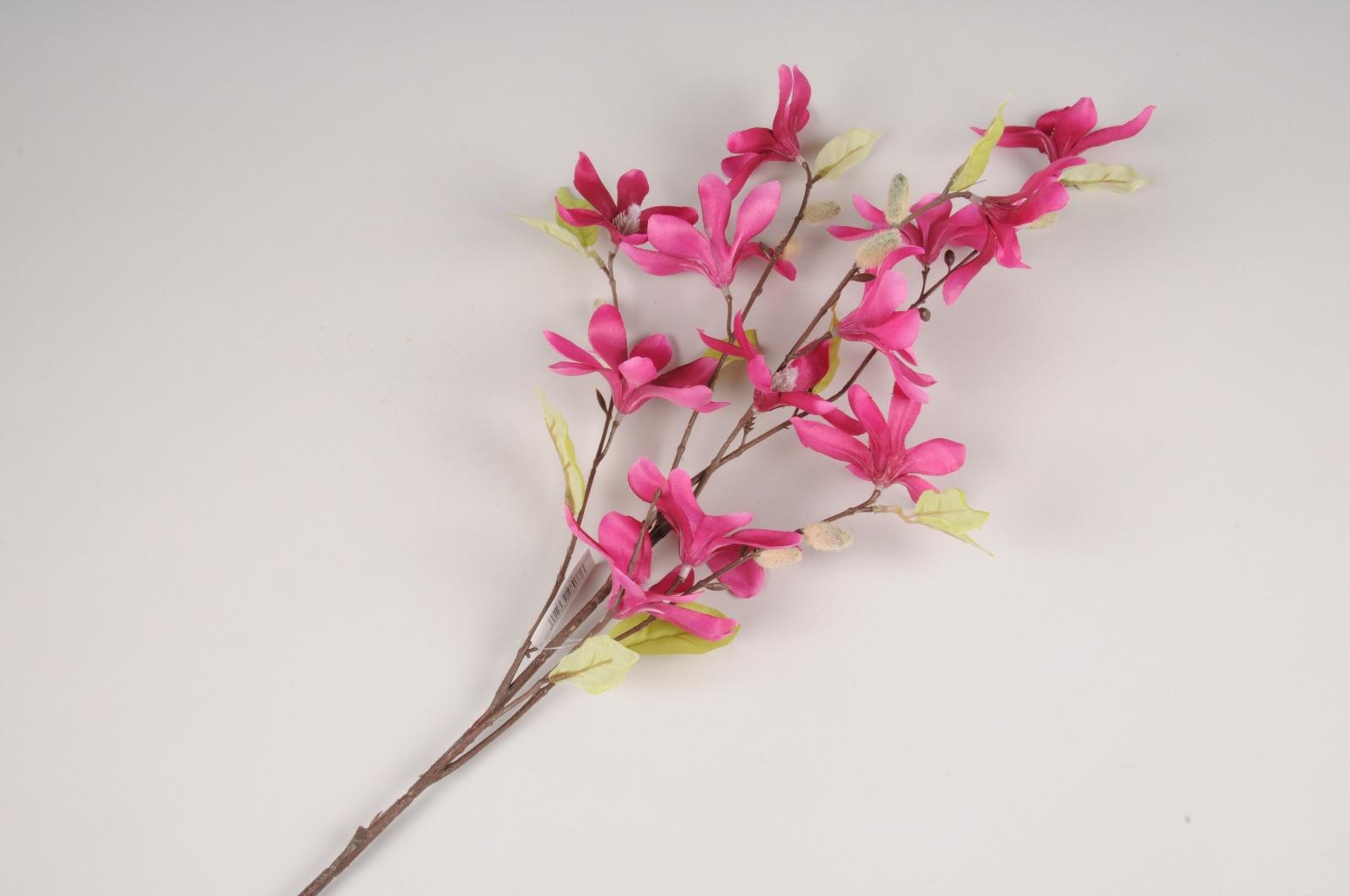 x630di Magnolia artificiel fuchsia H90cm