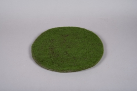 x649mi Artificial green foamed plat D40cm