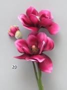 x656nn Magnolia artificiel fuchsia H40cm