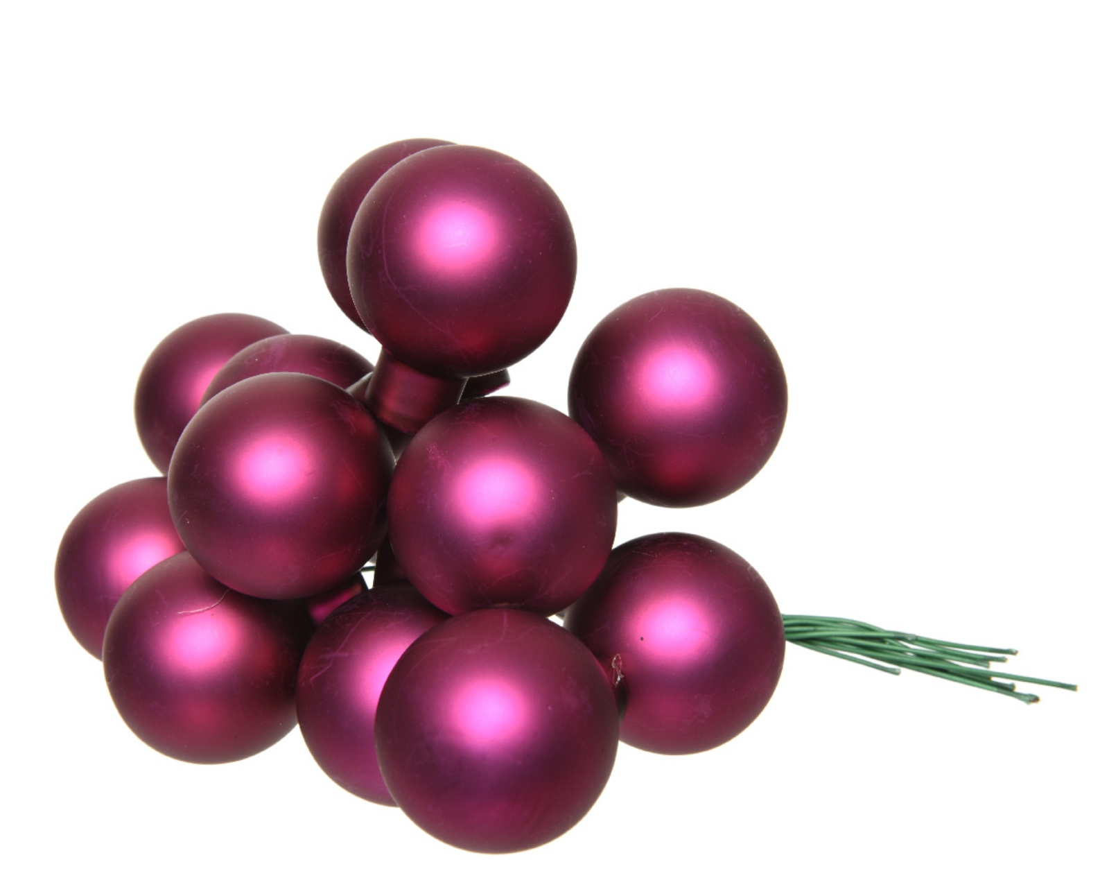 X657KI Boîte de 144 boules en verre magnolia D20mm
