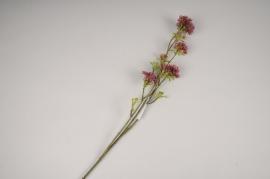 x661di Pink artificial bouvardia branch H85cm
