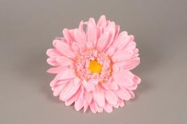 x661jp Artificial pink gerbera D33cm