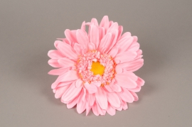 x661jp Gerbera rose artificiel D33cm