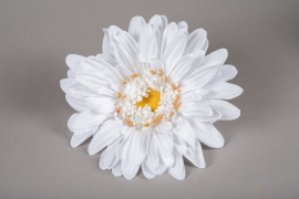 x662jp Artificial white gerbera D33cm