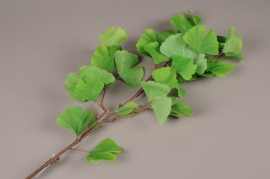 x666jp Artificial green gingko branch H90cm