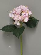 x667nn Hortensia artificiel rose H48cm