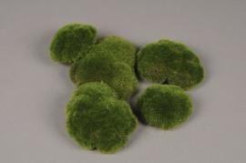 x675jp Sachet de 5 galets en mousse vert