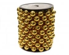 X705KI Roll of beads gold 14mm x 5m