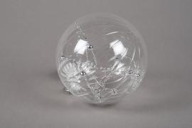 X706DQ Boule en verre déco assortis D12cm