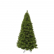 X736DQ Artificial green Christmas tree H155cm