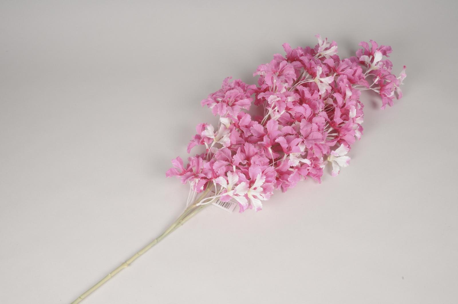 x746jp Fleur artificielle rose H99cm