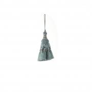 X752DQ Blue cloth tassel H14cm