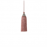 X755DQ Pink cloth tassel H23cm