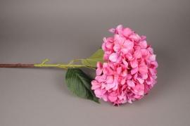 x788nn Hortensia artificiel rose H110cm