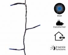 X792KI Guirlande éléctrique 360 LED bleu L27m