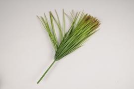 x819mi Piquet d'herbe artificielle verte H37cm