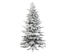 X983KI Artificial snow-covered alaskan Christmas tree D115cm H240cm
