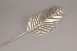 xx22ee Feuille de palmier artificiel or H72cm