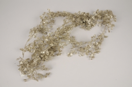 xx38di Gold artificial little ginkgo garland L160cm