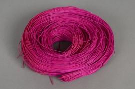 y003mi Rattan roll cyclamen pink 250g
