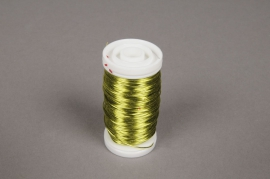 A014MG Yellow wire roll D0.5mm L50m