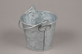 A049Q4 Zinc bucket D11cm H9cm