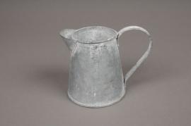A037Q4 Zinc pitcher D6cm H9.5cm